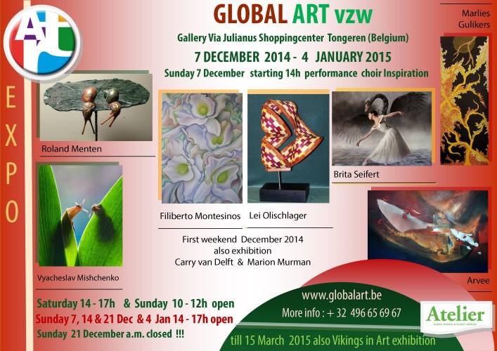 exhibition december GA vzw2014
