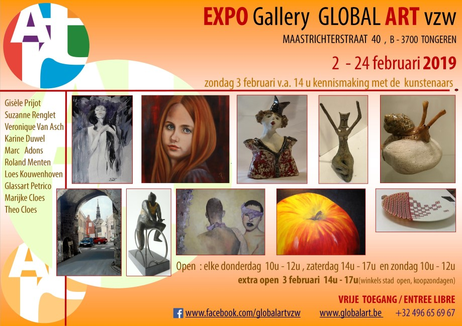 expo februari Gallery Global ARt vzw