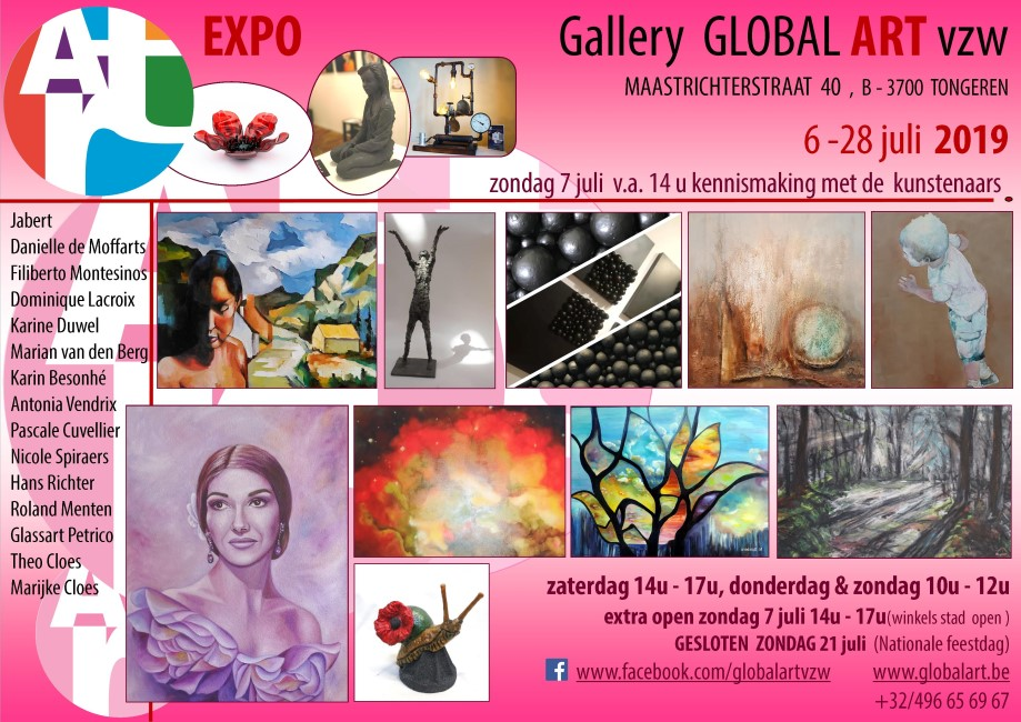 Expo juli Global Art vzw 2019