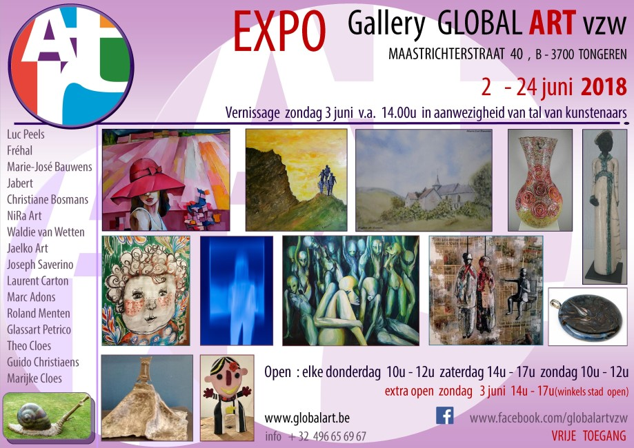 expo Global Art juni 2018