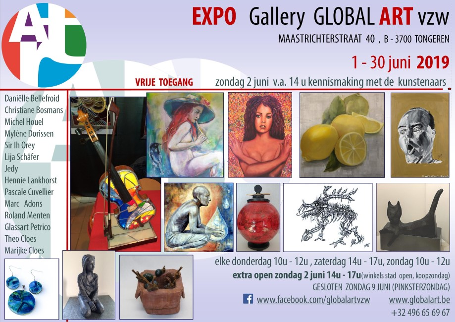 Expo juni Global Art vzw