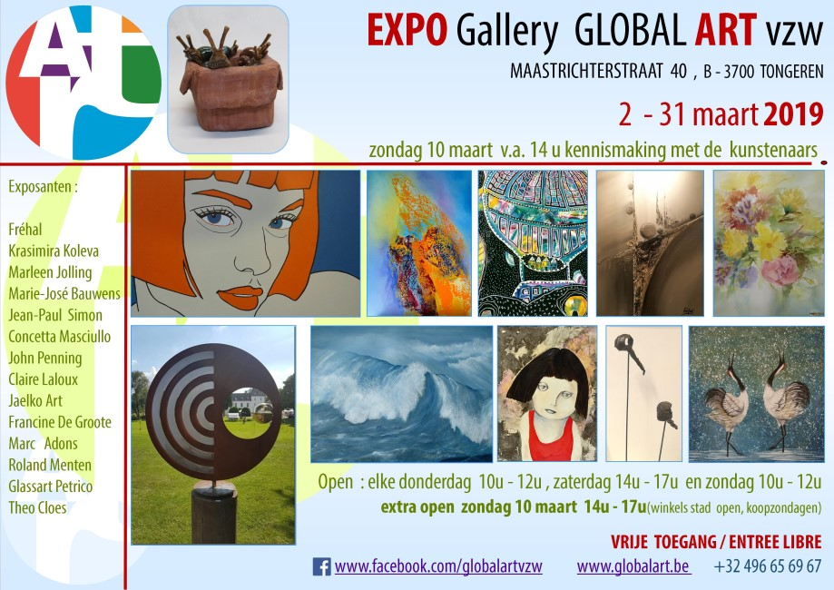 Expo Global ARt Maart 2019